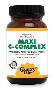 Maxi C-Complex (1000 mg 180 tabs) Country Life
