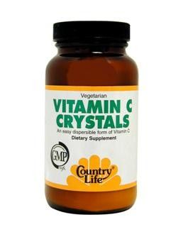 Vitamin C Crystals (8 oz) Country Life
