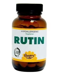 Rutin Tablets (500 mg 50 tabs) Country Life