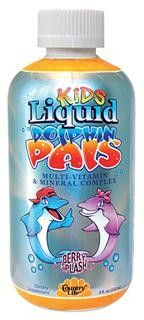Dolphin Pals Liquid Multi-Vitamin & Mineral Complex (8 oz) Country Life