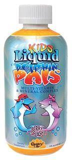 Dolphin Pals Liquid Multi-Vitamin & Mineral Complex (8 oz) Country Life