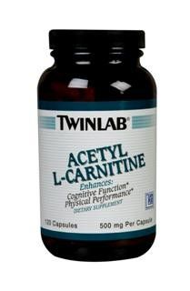 Acetyl L-Carnitine 500Mg (120 capsules) TwinLab
