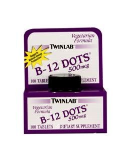 B-12 Dots (250 tablets)* TwinLab