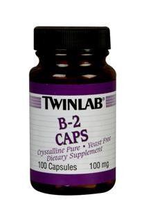 B-2 (100 mg 100 capsules) TwinLab