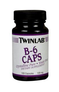 B-6  (100 mg 100 capsules) TwinLab