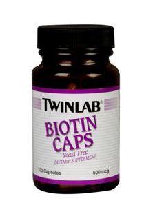 Biotin (600 mcg 100 capsules) TwinLab
