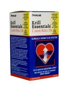 Cardio Krill Oil (60 softgels) TwinLab