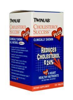 Cholesterol Success Plus (120 tablets) TwinLab