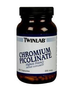 Chromium Picolinate (200 capsules) TwinLab