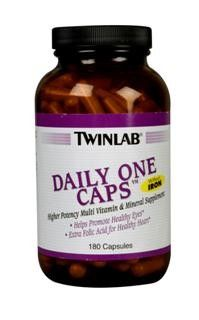 Daily One Caps without Iron (180 ct) TwinLab