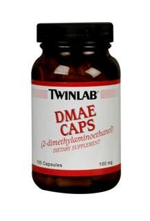 DMAE (100 capsules) TwinLab