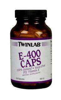 E-400 (100 capsules) TwinLab