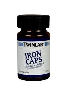 Iron (100 capsules) TwinLab
