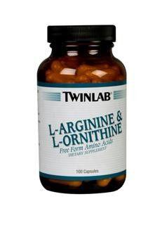 L-Arginine/L-Ornithine (100 Capsules) TwinLab