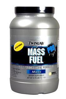 Mass Fuel (Vanilla 3.75 lbs) TwinLab
