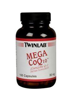 Mega COQ10 (100 capsules) TwinLab