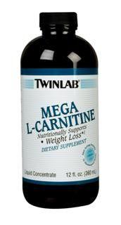 Mega L-Carnitine Liquid (12 oz) TwinLab
