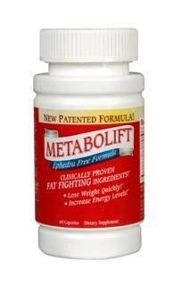 Metabolift Ephedra Free (120 capsules) TwinLab