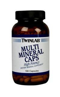Multi Mineral (180 capsules) TwinLab