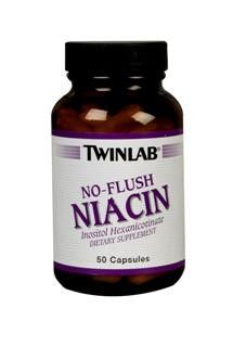 No Flush Niacin (50 caps) TwinLab