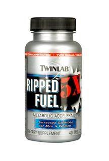 Ripped Fuel 5X (40 tablets) TwinLab