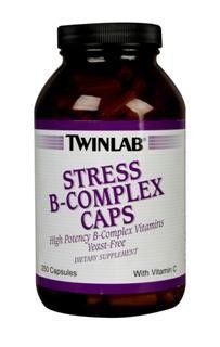 Stress B-Complex (250 capsules) TwinLab