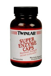 Super Enzyme (50 caps) TwinLab