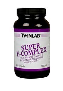 Super E-Complex (1000 I.U. 100 softgels) TwinLab