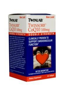 Twinsorb Coq10 (100 mg 45 softgels) TwinLab
