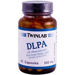 DLPA, DL-Phenylalanine (60 capsules) TwinLab