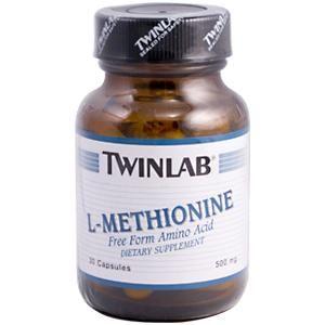 L-Methionine (500 mg 30 capsules) TwinLab