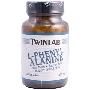 L-Phenylalanine (500 mg 60 capsules) TwinLab