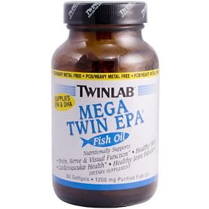 Mega Twin EPA (60 softgels) TwinLab
