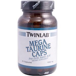 Mega Taurine (50 caps) TwinLab