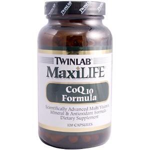 MaxiLife Coq10 Formula (120 capsules) TwinLab