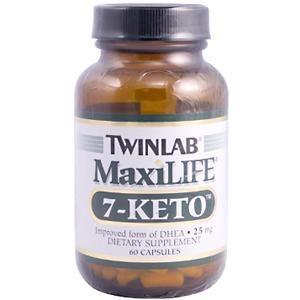 MaxiLife 7-KETO (25 mg 60 capsules) TwinLab
