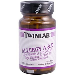 Allergy A & D (100 capsules) TwinLab