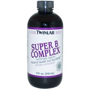 Super B Complex Herbal (8 oz) TwinLab