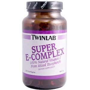 Super E-Com (400 IU 250 softgels) TwinLab