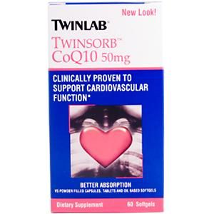 Twinsorb COQ10 (50 mg 60 softgels) TwinLab