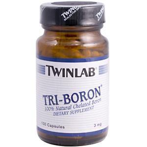Tri-Boron (100 capsules) TwinLab