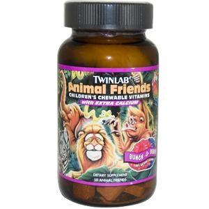 Animal Friends Berry (50 wafers) TwinLab