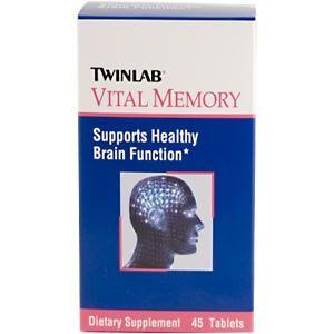 Vital Memory (45 tablets) TwinLab