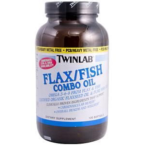 Organic Flax/Fish Oil Blend (120 softgels) TwinLab