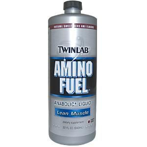 Amino Fuel Liquid Cherry (32 oz) TwinLab