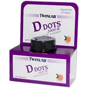 D Dots (2000 I.U. 100 tabs) TwinLab