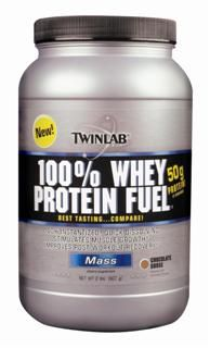 100% Whey Protein Fuel - Chocolate (2 lb) TwinLab