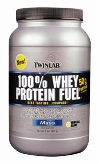 100% Whey Protein Fuel - Vanilla (2 lb) TwinLab