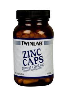 Zinc (50 mg 90 caps) TwinLab