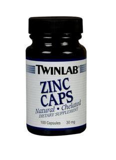 Zinc (30 mg 100 capsules) TwinLab